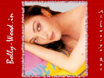 Aishwarya Rai laying down photo