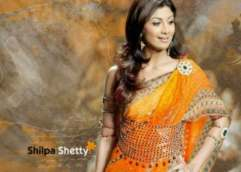Indian dress ethnic Shilpa Shetty photo